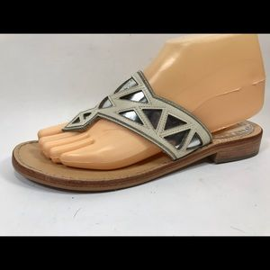 Sam Edelman Treva Leather Flip Flops 7.5M